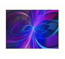 Ribbon Portal Art Print