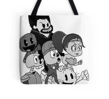 """The Crowd "" Playstation all stars shirt Tote Bag"