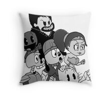 """""""The Crowd """" Playstation all stars shirt Throw Pillow"""