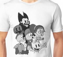 """The Crowd "" Playstation all stars shirt Unisex T-Shirt"