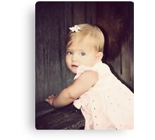 Little McKinley Canvas Print