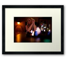 flame of lust Framed Print