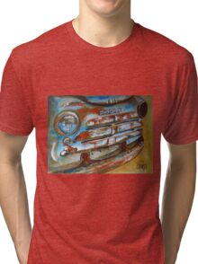 Old Rusted Car I Tri-blend T-Shirt