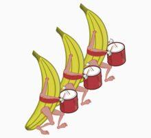 Banana Marching Band Kids Tee