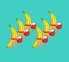 Banana Marching Band by piedaydesigns