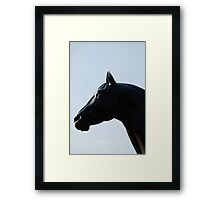Man O' War (a) Framed Print