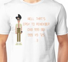 The IT Crowd – 0118 999 881 999 119 725 …3 Unisex T-Shirt