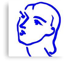 Matisse Ink Sketch Canvas Print