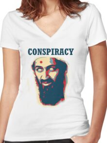 Conspiracy! Women's Fitted V-Neck T-Shirt