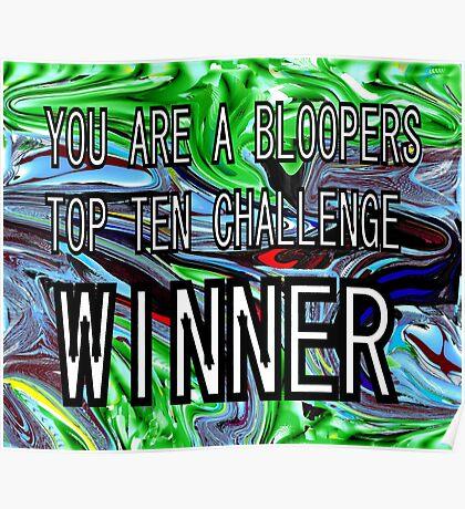 CHALLENGE TOP TEN Poster