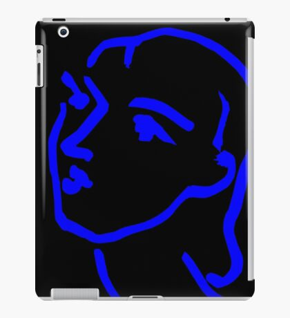 Matisse Ink Sketch (Black) iPad Case/Skin