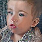 """British boy"" (portrait) by Arts Albach"