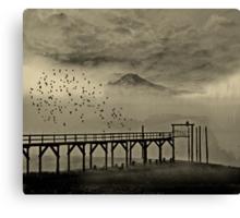 Mount Tahoma in Washington State... Canvas Print