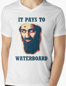 It Pays To Waterboard! Mens V-Neck T-Shirt