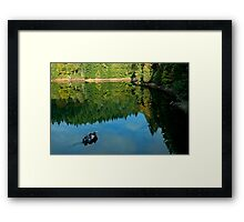 Autumn Trolling Framed Print