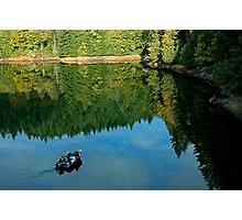 Autumn Trolling Photographic Print