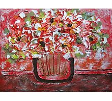 Abstract Flowerpot Photographic Print