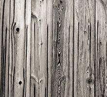 sepia wooden planks by Artur Mroszczyk