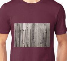 sepia wooden planks Unisex T-Shirt