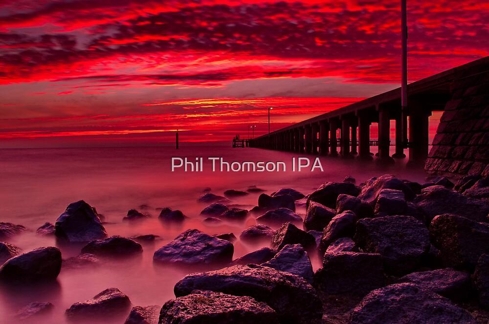 """Burgundy Morn."" by Phil Thomson IPA"
