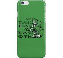 HALO Master Chief We Take Care of Each Other iPhone Case/Skin