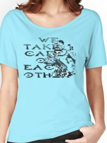 HALO Master Chief We Take Care of Each Other Women's Relaxed Fit T-Shirt