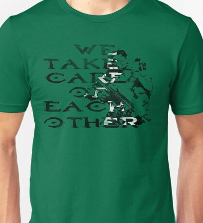 HALO Master Chief We Take Care of Each Other Unisex T-Shirt