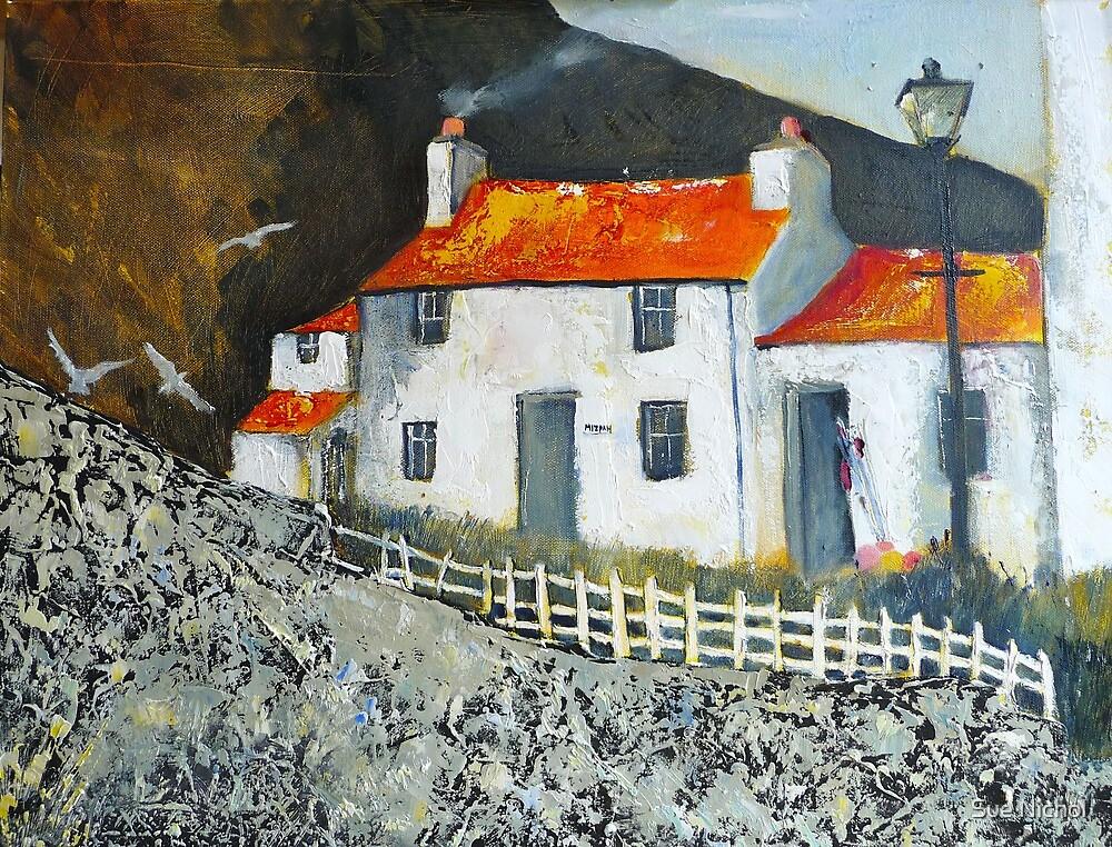 Mizpah Cottage, Staithes by Sue Nichol