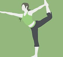 Wii Fit Trainer ♀ (Green) - Super Smash Bros. by samaran