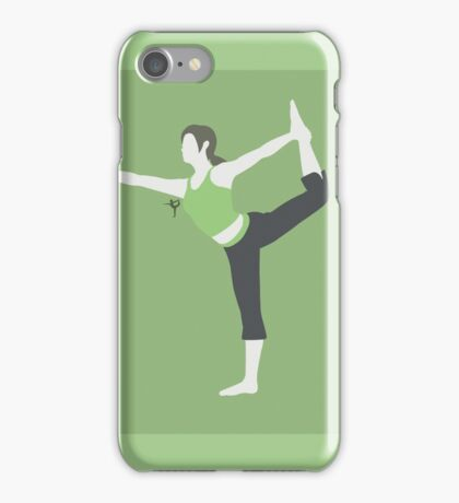 Wii Fit Trainer ♀ (Green) - Super Smash Bros. iPhone Case/Skin