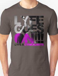 Mulberry LyfeXCynicalnuts Grey Unisex T-Shirt
