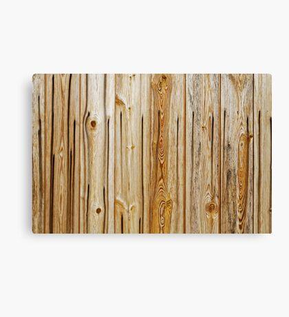 wooden planks pattern Canvas Print