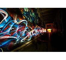 Dark Street Art Photographic Print