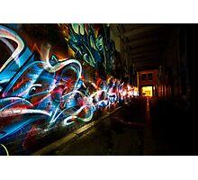 Dark Street Art Photographic Print