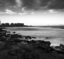 Newcastle Beach by Nichole Lea