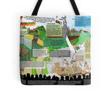 HarryHausen Infographic Tote Bag