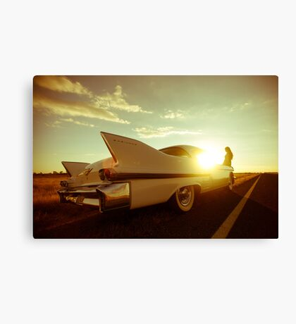 Lucinda and Dolores Canvas Print
