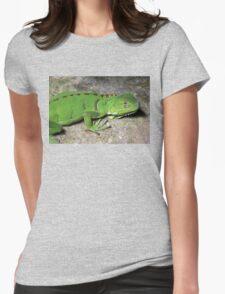 Juvenile Green Iguana Womens Fitted T-Shirt