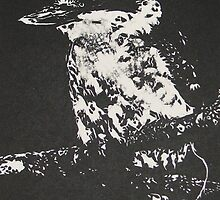 kookaburra by Linda Abblitt