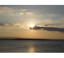 Evening over Scattery Island Photographic Print