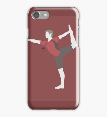 Wii Fit Trainer ♂ (Red) - Super Smash Bros. iPhone Case/Skin