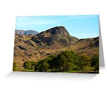 Side Pike from Blea Tarn - Lake District Greeting Card