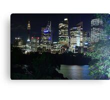 Sydney Glows Canvas Print