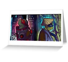 Tmnt Brothers Greeting Card