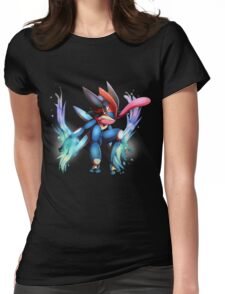 Ash-Greninja Womens Fitted T-Shirt