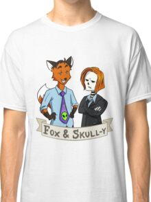 Fox and Skull-y Classic T-Shirt