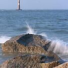 Morris Island Light, Folly Beach, SC by mklue