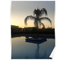 Grecian Sunset Poster
