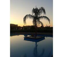 Grecian Sunset Photographic Print