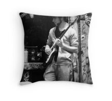 Mutton chops! Throw Pillow